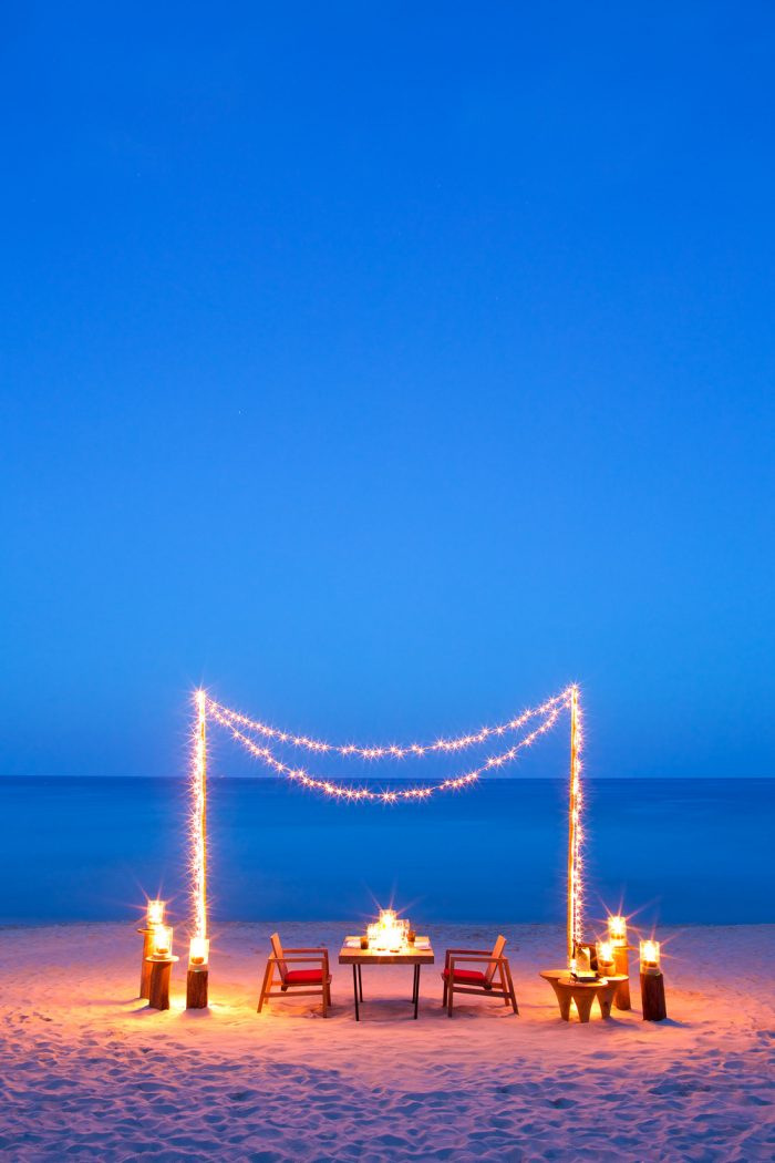 Starlit Dinnerscapes Special Dinner on the Beach at The Page Restaurant Chaweng Beach Koh Samui