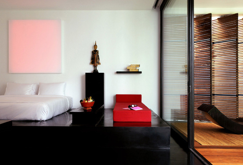 Luxury Exotic Suite accommodation at The Library Koh Samui Boutique Resort Chaweng Beach - a member of Design Hotels.