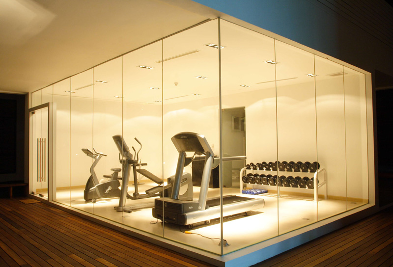 Snazz up your fitness routine with a visit to The Fit. Whether it be a quick aerobic workout or a full-scale bodybuilding regimen, The Fit provides the necessary modern equipment to keep the heart pumping or to highlight that perfect washboard abs.