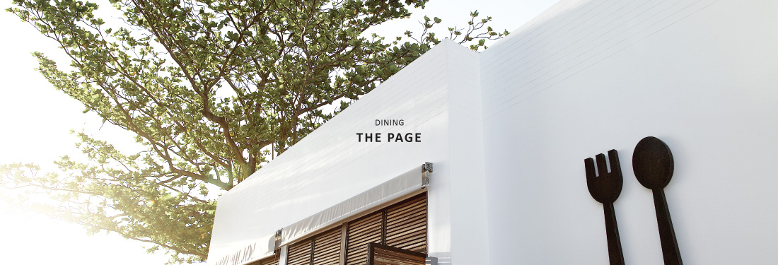 "Authentic and artisanal dining at The Page restaurant. Holding fort on the Chaweng beachfront is The Library's iconic restaurant, The Page. With a menu offering of Thai and international fusion and a host of ""Original Experiences"" found nowhere else, the renowned venue has already made its mark on Koh Samui's upscale dining scene."
