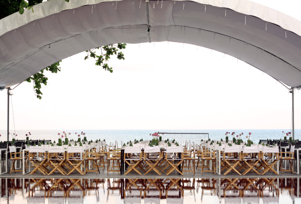 Nestled amidst a minimalist hotel hideaway, it is nothing short of breathtaking to arrange an exclusive event at The Library Koh Samui. With our team of highly-experienced wedding advisors to assist you with every aspect of the event, you can relax in the knowledge that all important details have been well taken care of. From exquisite flowers and sumptuous menus to tailor-made decorations and stylish accommodations, The Library Koh Samui provides ongoing support and creative inspiration for that one-of-a-kind dream event. Whether casual or elegant, trendy or traditional, we take pride in offering each couple a bespoke event creation designed to be a true reflection of our clients' unique vision.